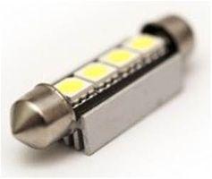 2 Ampoule LED SMD C5W-39mm-WHITE